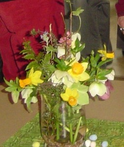 Lenten Rose arrangement