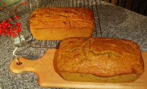 November 17 2013 pumpkin bread 002