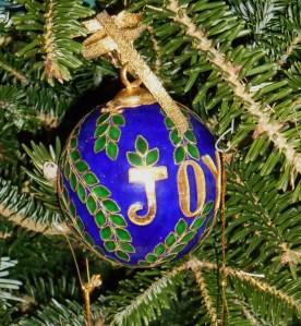 The 2000 commemorative Christmas ball from Maymont Park, in Richmond, Va.