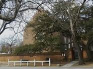 Bruton Parish, on the corner of Duke of Gloucester Street