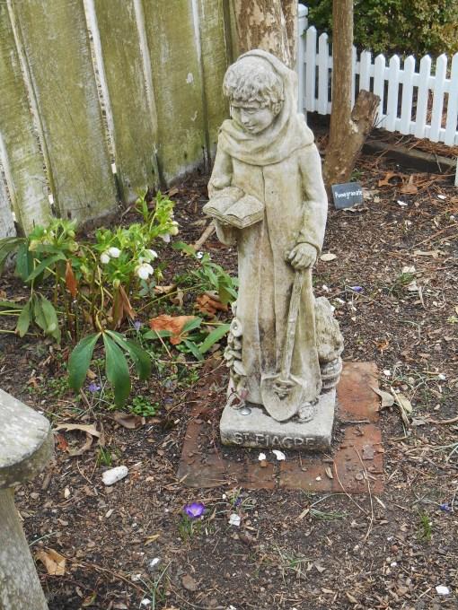 Bruton Parish House garden.