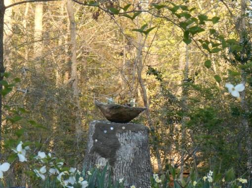 April 21, 2014 hypertufa pot and pedastal 001