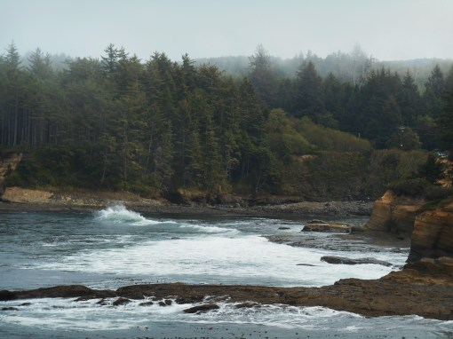 Oregon's beautiful coast, just south of Depoe Bay.