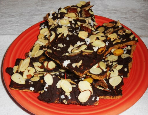 """The Forest Floor"" chocolate cookies"