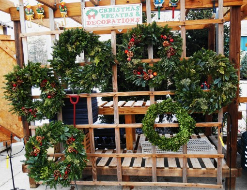 The Homestead Garden Center on Saturday offered so many beautiful decorations for Christmas.