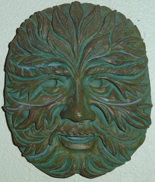 August 5 Green man 002