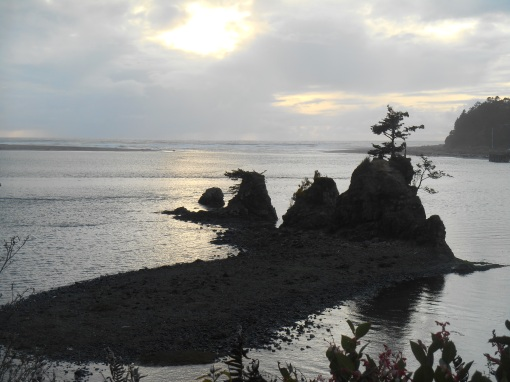 Siletz Bay, Oregon, along Route 101