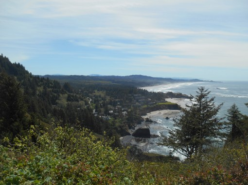 The view from Cape Foulweather, on Route 101