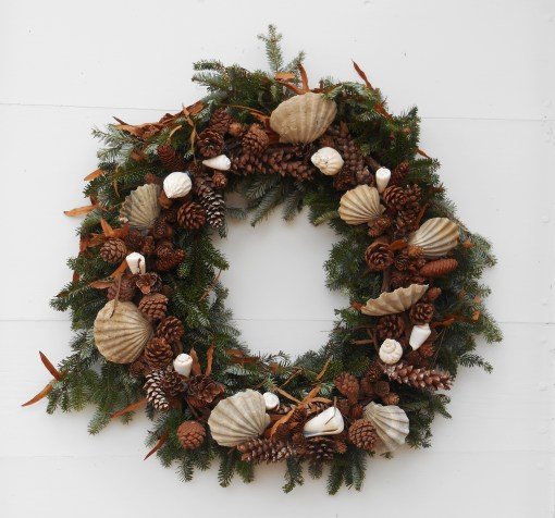 Another Colonial Williamsburg wreath.