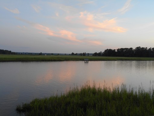 August 10, 2016 River at dusk 069