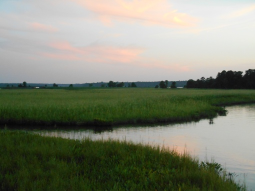 August 10, 2016 River at dusk 076