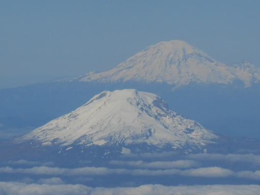 Mt. Adams and Mt. Baker